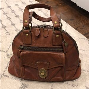 Coach Luci 65th Anniversary Leather Dome Satchel